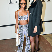 Lala Roswess Jordan Onyeka and Denise Dame is a Slovene model Attendees at the Graduate Fashion Week 2019 - Day Three, on 4 June 2019, Old Truman Brewery, London, UK.