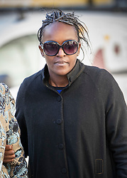 © Licensed to London News Pictures. 05/03/2019. London, UK. Labour MP Fiona Onasanya arrives at the Royal Courts of Justice ahead of an appeal. The Peterborough MP was jailed for three months after being found guilty of perverting the course of justice after lying to police to avoid a speeding charge. Photo credit: Peter Macdiarmid/LNP