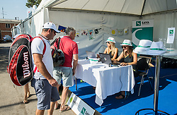 VIP guests during Day 8 at ATP Challenger Zavarovalnica Sava Slovenia Open 2018, on August 10, 2018 in Sports centre, Portoroz/Portorose, Slovenia. Photo by Vid Ponikvar / Sportida