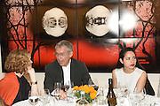 IZAK UZIYEL; RUXANDRA ADAL, Dinner to celebrate the 10th Anniversary of Contemporary Istanbul Hosted at the Residence of Freda & Izak Uziyel, London. 23 June 2015