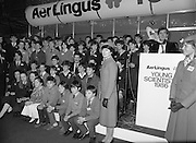 10/01/1986.01/10/1986.10th January 1986.The Aer Lingus Young Scientist of the Year Exhibition at the RDS, Dublin...Picture shows a group of some of the winners at the Exhibition...