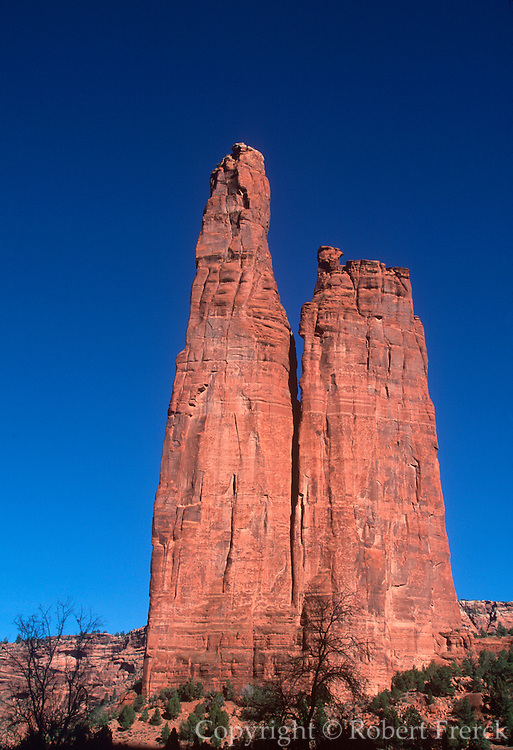 ARIZONA, CANYON DE CHELLY 'Spider Rock', on Navajo Reservation