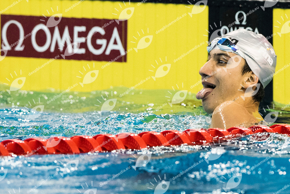 AL-KHULAIFI Noah QAT<br /> Men's 200m Individual Medley<br /> Doha Qatar 05-12-2014 Hamad Aquatic Centre, 12th FINA World Swimming Championships (25m). Nuoto Campionati mondiali di nuoto in vasca corta.<br /> Photo Giorgio Scala/Deepbluemedia/Insidefoto