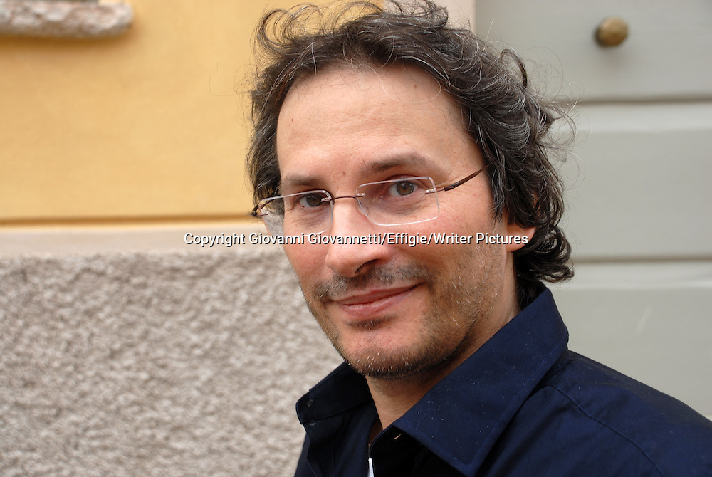 Pierluigi Cappello, Festivaletteratura Mantova <br /> 05 September 2014<br /> <br /> Photograph by Giovanni Giovannetti/Effigie/Writer Pictures <br /> <br /> NO ITALY, NO AGENCY SALES