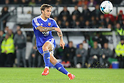 Brentford FC midfielder Sam Saunders (7) strikes at goal during the EFL Sky Bet Championship match between Derby County and Brentford at the iPro Stadium, Derby, England on 18 October 2016. Photo by Aaron  Lupton.