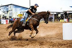 Prova dos 5 tambores da raça Mangalarga 38ª Expointer, que ocorrerá entre 29 de agosto e 06 de setembro de 2015 no Parque de Exposições Assis Brasil, em Esteio. FOTO:Pedro H. Tesch/ Agência Preview