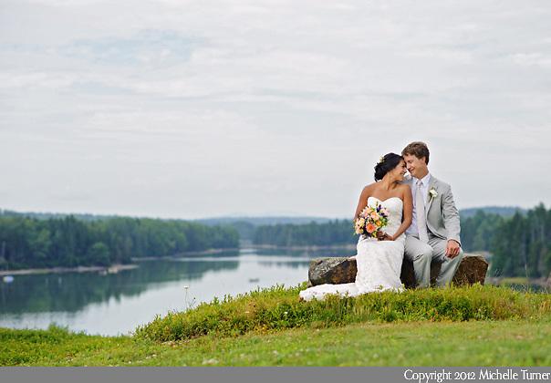 from Jenna and Tucker's coastal Maine wedding. Photography by Maine Wedding Photographer Michelle Turner.