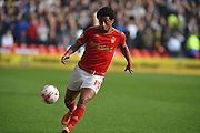 Nottingham Forest midfielder Ryan Mendes during the Sky Bet Championship match between Nottingham Forest and Sheffield Wednesday at the City Ground, Nottingham, England on 12 March 2016. Photo by Jon Hobley.