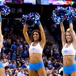 November 17, 2010; New Orleans, LA, USA; New Orleans Hornets Honeybees dancers perform during a game against the Dallas Mavericks at the New Orleans Arena. The Hornets defeated the Mavericks 99-97. Mandatory Credit: Derick E. Hingle