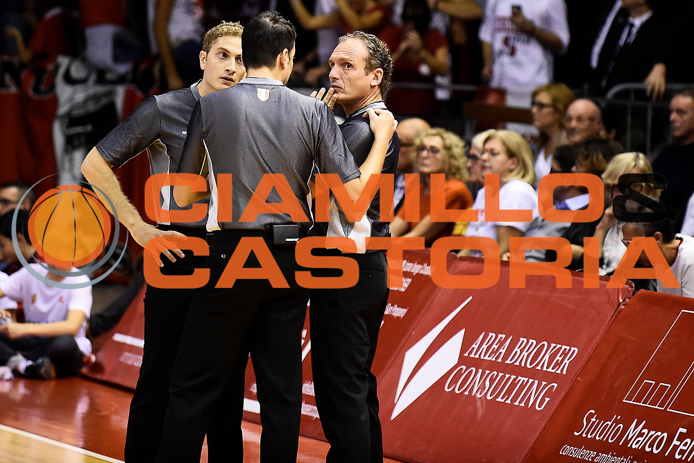 Grissin Bon Pallacanestro Reggio Emilia - VL Pesaro<br /> Lega Basket Serie A 2017/2018<br /> Reggio Emilia, 08/10/2017<br /> Foto A.Giberti / Ciamillo - Castoria