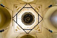 Egypt . Cairo : mosque madrassa Sarghatmish - inside - in islamic Cairo   +