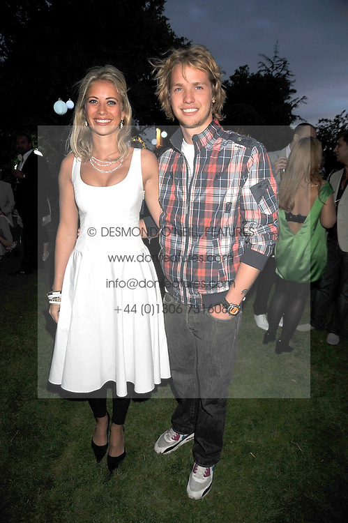 HOLLY BRANSON and SAM BRANSON at The Ralph Lauren Sony Ericsson WTA Tour Pre-Wimbledon Party hosted by Richard Branson at The Roof Gardens, London on June 18, 2009