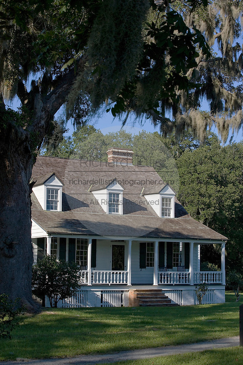"""The last remaining structure at the former coastal plantation at the Charles Pinckney National Historic Site in Mount Pleasant, SC. Charles Pinckney was a principal author and a signer of the United States Constitution and is often called the """"forgotten founder""""."""