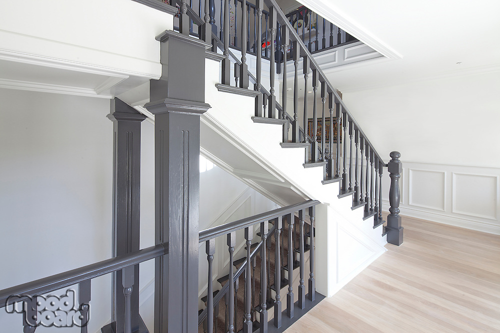 View of a traditional staircase
