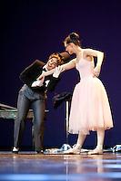 Frá vorsýningu Klassíska listdansskólans í maí 2009. From the spring show at The Icelandic Classic Dance School in May 2009.