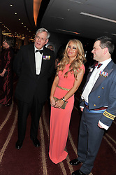 Left to right, the DUKE OF GLOUCESTER, KATIE PIPER and TAL LAMBERT at the Soldiering On Awards 2013 held at the Park Plaza Hotel, Westminster Bridge, London SE1 on 23rd March 2013.