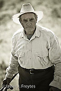 Farmer portrait for the official calendar of the municipality of Juncos, Puerto Rico. (2009)