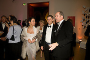 BARONESS Soujata DEVARIS; CRAIG WILSON; SANDY NAIRNE, National Portrait Gallery fundraising Gala in aid of its Education programme, National Portrait Gallery. London. 3 March 2009 *** Local Caption *** -DO NOT ARCHIVE-© Copyright Photograph by Dafydd Jones. 248 Clapham Rd. London SW9 0PZ. Tel 0207 820 0771. www.dafjones.com.<br />