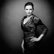 Portrait of Soprano, Claire Thompson.