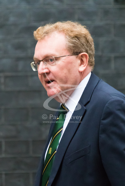 Downing Street, London, November 17th 2015. Scottish Secretary David Mundell arrives at Downing Street for the weekly cabinet meeting.