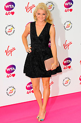 Wimbledon Party<br /> Olga Govortsova attends the annual pre-Wimbledon party at Kensington Roof Gardens,<br /> London, United Kingdom<br /> Thursday, 20th June 2013<br /> Picture by Chris  Joseph / i-Images