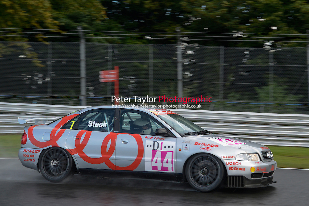 #7 Paul Smith - BMW during HSCC Super Touring Car Championship qualifying at Oulton Park, Little Budworth, Cheshire, United Kingdom. August 23 2014. World Copyright Peter Taylor. Copy of publication required for printed pictures.  Every used picture is fee-liable. http://archive.petertaylor-photographic.co.uk