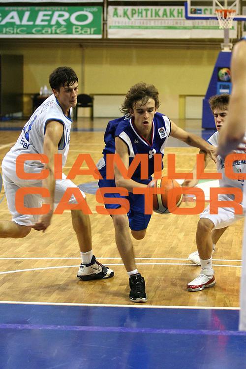 DESCRIZIONE : Rethimnon Crete Termosteps U16 European Championship Men Qualifying Round Italy Serbia<br /> GIOCATORE : Vukasovic<br /> SQUADRA : Serbia<br /> EVENTO : Rethimnon Crete Termosteps U16 European Championship Men Creta Europeo U16 Uomini <br /> GARA :  Italy Serbia Italia Serbia<br /> DATA : 25/07/2007 <br /> CATEGORIA : Penetrazione<br /> SPORT : Pallacanestro <br /> AUTORE : Agenzia Ciamillo-Castoria/M.Marchi <br /> Galleria : Europeo Under 16 <br /> Fotonotizia : Rethimnon Crete Termosteps U16 European Championship Men Qualifying Round Italy Serbia<br /> Predefinita :