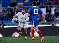 Rome, Italy -Castrogiovanni and Fritz during Italia vs Francia race of the championship rugby SIX NATIONS played at the Olimpico in Rome.(Credit Image: © Gilberto Carbonari/).