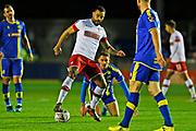 Kyle Vassell in action during the The FA Cup match between Solihull Moors and Rotherham United at the Automated Technology Group Stadium, Solihull, United Kingdom on 2 December 2019.