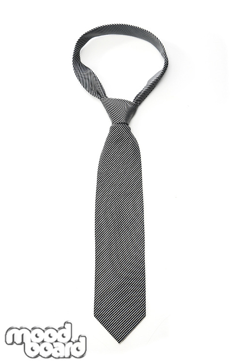 Tie on white background - studio shot