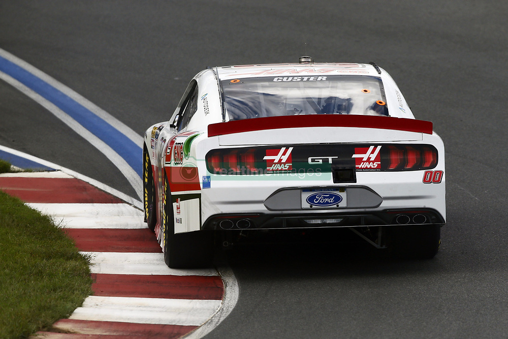 September 27, 2018 - Concord, North Carolina, United States of America - Cole Custer (00) races through the turns during practice for the Drive for the Cure 200 at Charlotte Motor Speedway in Concord, North Carolina. (Credit Image: © Chris Owens Asp Inc/ASP via ZUMA Wire)