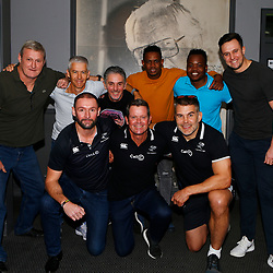 03,07,2019 Sharks coaching staff with members of the media