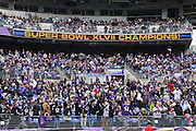 The Baltimore Ravens Super Bowl XLVII Celebration at M&T Bank Stadium on Tuesday, February 5, 2013 in Baltimore, MD.