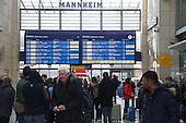 Verzögerung im Bahnverkehr
