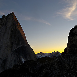 Alpine Sunset - Bugaboo Spire - Bugaboo Provincial Park