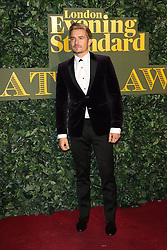 © Licensed to London News Pictures. 13/11/2016. London, UK, Orlando Bloom, Evening Standard Theatre Awards, Photo credit: Richard Goldschmidt/LNP