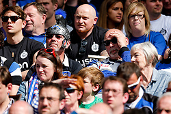 Bath fans look dejected after their side lose to Saracens - Photo mandatory by-line: Rogan Thomson/JMP - 07966 386802 - 30/05/2015 - SPORT - RUGBY UNION - London, England - Twickenham Stadium - Bath Rugby v Saracens - 2015 Aviva Premiership Final.