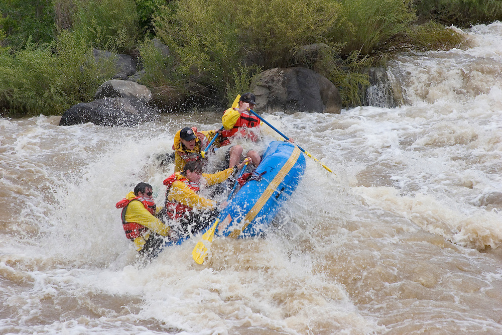 River Rafters on the Rio Grande