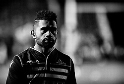 Glasgow Warriors' Nikola Matawalu during the pre match warm up<br /> <br /> Photographer Simon King/Replay Images<br /> <br /> Guinness PRO14 Round 14 - Dragons v Glasgow Warriors - Friday 9th February 2018 - Rodney Parade - Newport<br /> <br /> World Copyright © Replay Images . All rights reserved. info@replayimages.co.uk - http://replayimages.co.uk