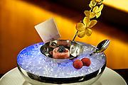 Toro Tar Tar <br /> Wasabi Dashi Soy and American Caviar
