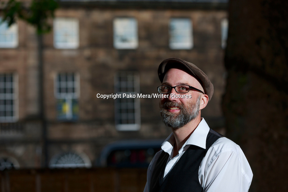 Dan Vyleta at Edinburgh International Book Festival 2014 <br /> 21st August 2014<br /> <br /> Picture by Pako Mera/Writer Pictures<br /> <br /> WORLD RIGHTS