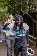 Carolina Panthers cornerback Donte Jackson(26) during minicamp at Bank of America Stadium, Thursday, June 13, 2019, in Charlotte, NC. (Brian Villanueva/Image of Sport)