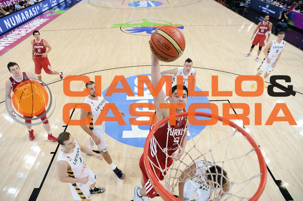 DESCRIZIONE : Barcellona Barcelona FIBA Basketball World Cup Spain 2014 1/4 Finals Turchia Lituania Turkey Lithuania<br /> GIOCATORE : Emir PRELDZIC<br /> CATEGORIA : <br /> SQUADRA : Turchia Turkey<br /> EVENTO : FIBA Basketball World Cup Spain 2014<br /> GARA :  Turchia Lituania Turkey Lithuania<br /> DATA : 09/09/2014<br /> SPORT : Pallacanestro <br /> AUTORE : Agenzia Ciamillo-Castoria<br /> Galleria : FIBA Basketball World Cup Spain 2014<br /> Fotonotizia : Barcellona Barcelona FIBA Basketball World Cup Spain 2014 1/4 Finals Turchia Lituania Turkey Lithuania