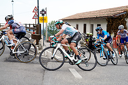 Leah Thomas (USA) on the final climb of the day during Stage 8 of 2019 Giro Rosa Iccrea, a 133.3 km road race from Vittorio Veneto to Maniago, Italy on July 12, 2019. Photo by Sean Robinson/velofocus.com