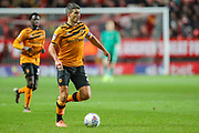 Hull City defender Eric Lichaj (2) during the EFL Sky Bet Championship match between Charlton Athletic and Hull City at The Valley, London, England on 13 December 2019.