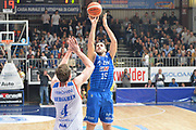 DESCRIZIONE : Cantu, Lega A 2015-16 Acqua Vitasnella Cantu' Enel Brindisi<br /> GIOCATORE : Andrea Zerini<br /> CATEGORIA : Tiro<br /> SQUADRA : Enel Brindisi<br /> EVENTO : Campionato Lega A 2015-2016<br /> GARA : Acqua Vitasnella Cantu' Enel Brindisi<br /> DATA : 31/10/2015<br /> SPORT : Pallacanestro <br /> AUTORE : Agenzia Ciamillo-Castoria/I.Mancini<br /> Galleria : Lega Basket A 2015-2016  <br /> Fotonotizia : Cantu'  Lega A 2015-16 Acqua Vitasnella Cantu'  Enel Brindisi<br /> Predefinita :