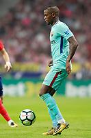 FC Barcelona's Nelson Semedo during La Liga match. October 14,2017. (ALTERPHOTOS/Acero)