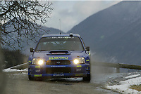 MONTE CARLO RALLY, 20030125, <br />