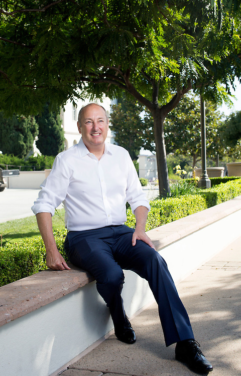 Christopher Wessells, CIO, stands at the University of San Diego on Thursday, September 24, 2015 in San Diego, CA.(Photo by Sandy Huffaker for Ed-Tech)