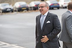 Prince Salman bin Hamad bin Isa Al Khalifa, Deputy King, Crown Prince of Bahrain at the official opening of the new Composites Technology Center at McLaren Automotive in Rotherham, South Yorkshire, UK. 14 Nov 2018 Pictured: Prince Salman bin Hamad bin Isa Al Khalifa, Deputy King, Crown Prince of Bahrain. Photo credit: MEGA TheMegaAgency.com +1 888 505 6342